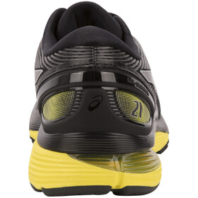 asics Gel-Nimbus 21 Shoes Men Black/Lemon Spark